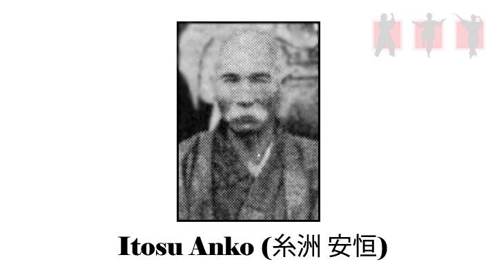 obrázok - okinavský majster Tode Anko Itosu