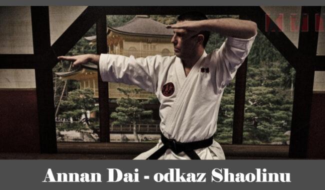 obrázok- karate kata Annan Dai