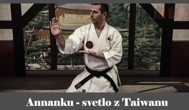obrázok- karate kata Annanku